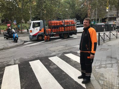 Gas: my obstacle course in Spain