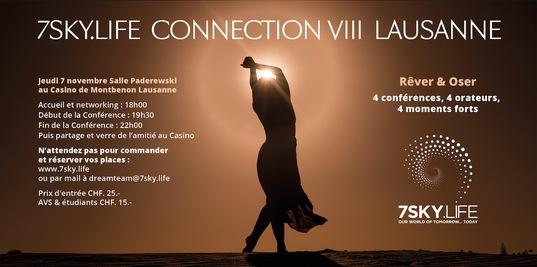 Petite conférence sur Joy for the Planet et «oser vivre ses rêves» le 7 novembre à Lausanne