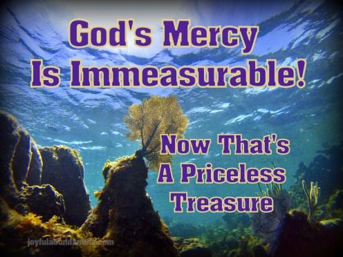Mercy Immeasurable