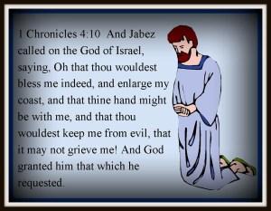 Effectual Prayer – The Prayer of Jabez