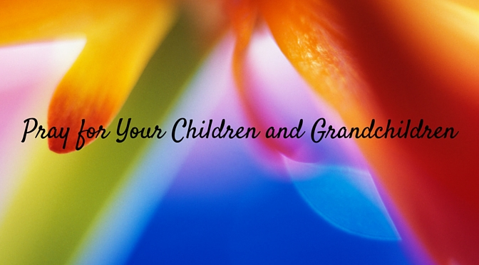 Printable Bookmark How to Pray for your Children