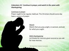 Thursday Prayer