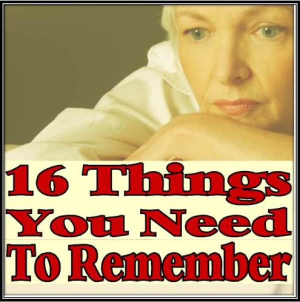Thngs You Need To Remember