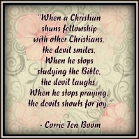 prayer by Corrie Ten Boom
