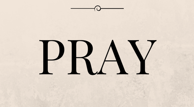 Saturday and Sunday Prayer Prompts