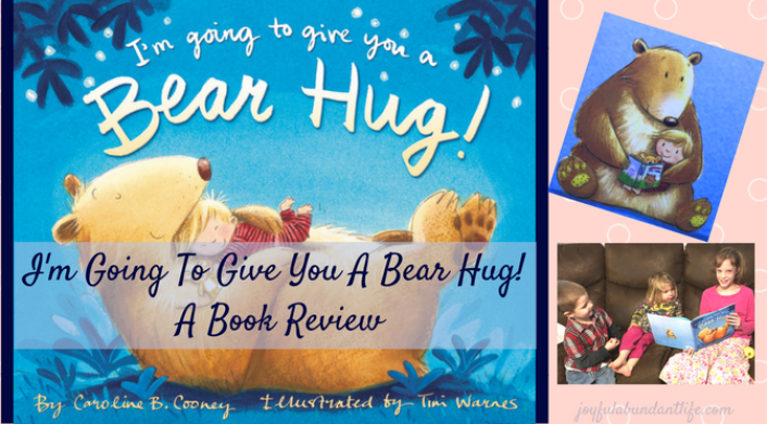 I'm Going To Give You A Bear Hug - Book Review