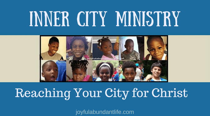 Inner City Ministry – What do you take for granted?