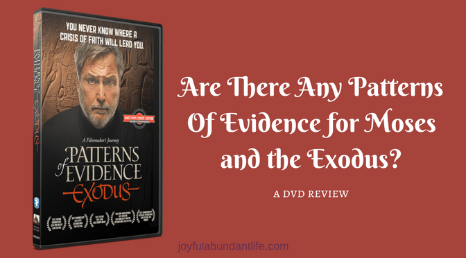 Evidence – Is There Evidence or Patterns of Evidence for Moses and the Exodus?