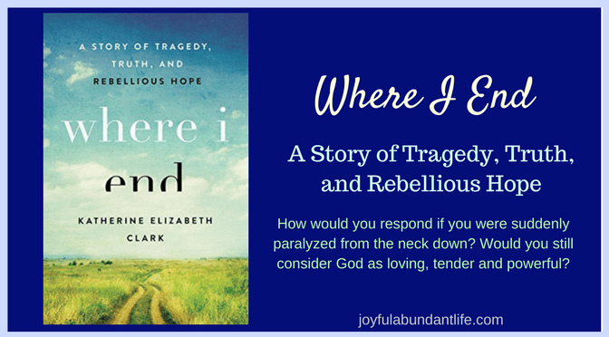 How Would You Respond If You Were Suddenly Paralyzed From The Neck Down?  Would You Still Consider God As Loving Tender And Powerful?