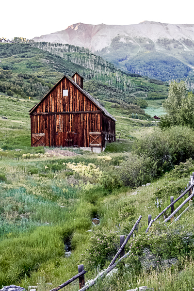 Barn in Telluride, Colorado