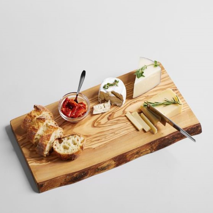 Pottery Barn Rustic Wooden Cheese Board