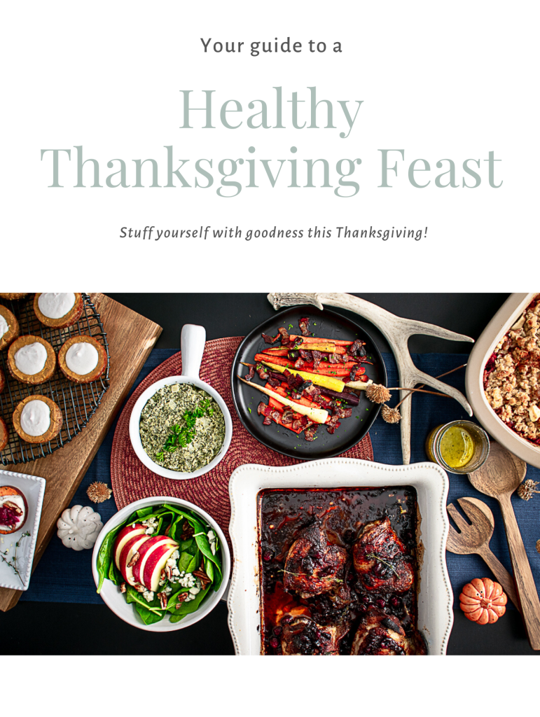 Healthy Recipes for Thanksgiving Ebook Cover