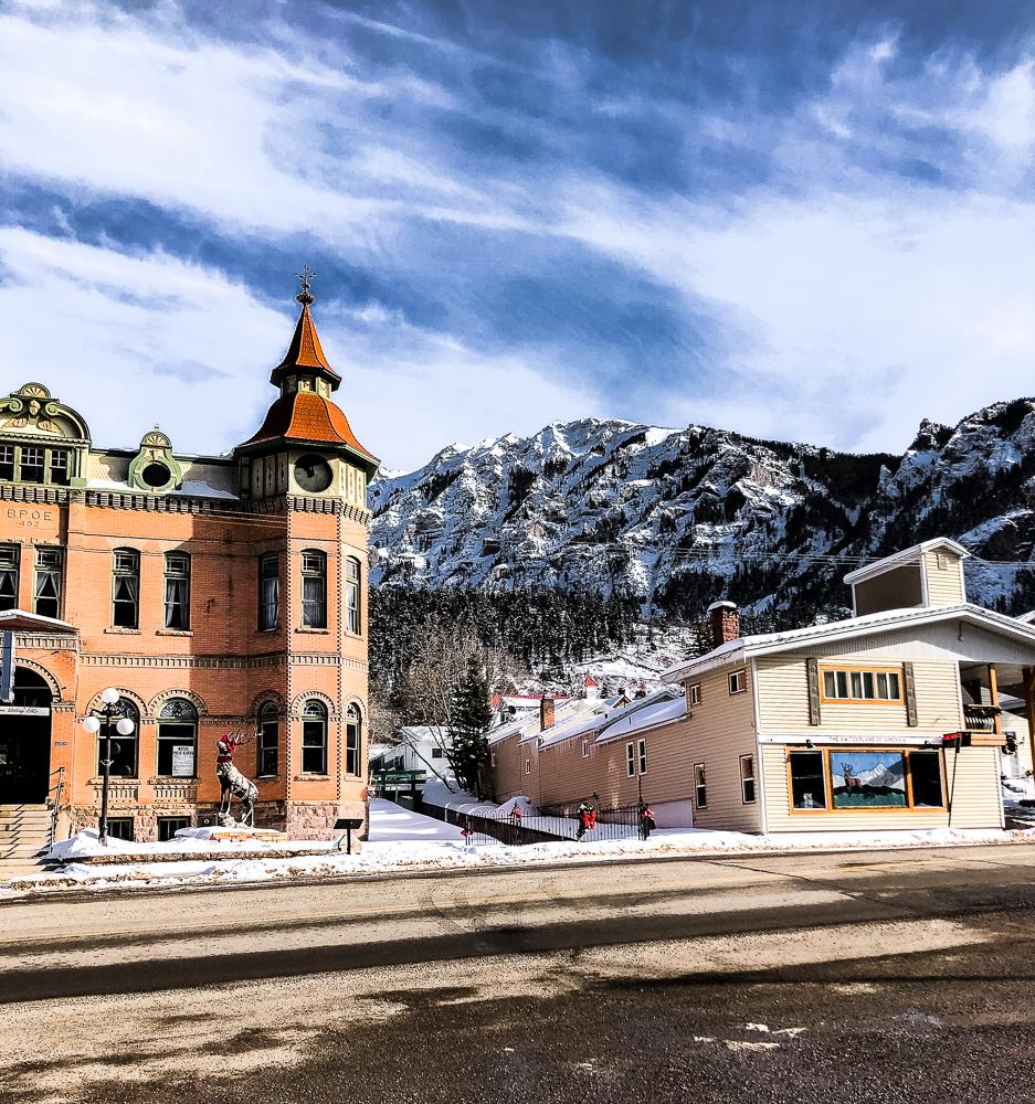 Downtown Ouray, Colorado