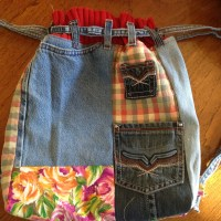 RECYCLED JEAN BACKPACK