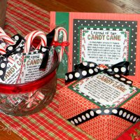 Legend of the Candy Cane Crafts