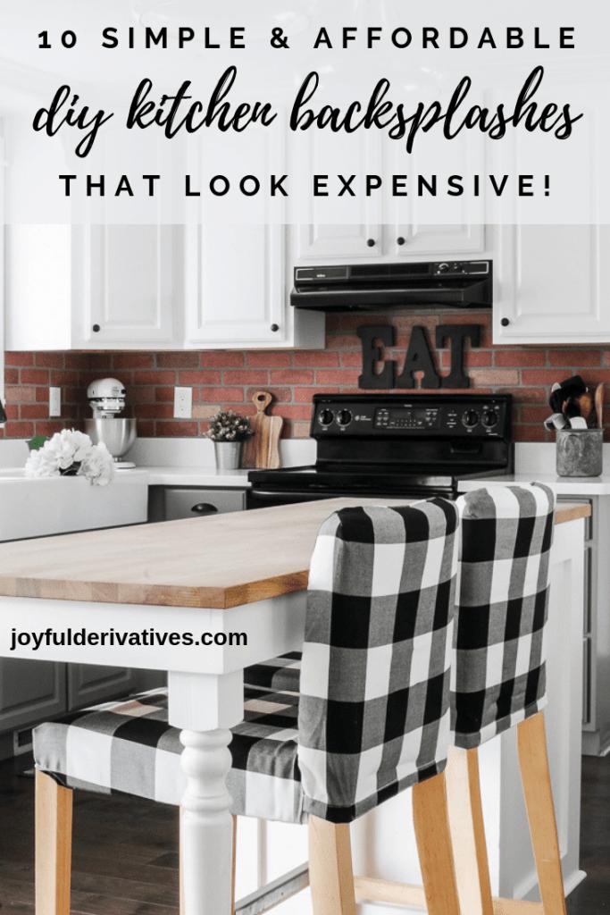 Affordable Diy Backsplash Ideas That Look Expensive Joyful Derivatives