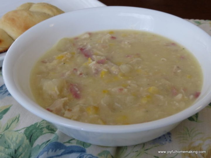 chicken bacon potato corn chowder