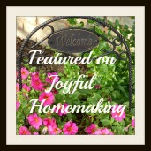 ", Welcome to ""Think Tank Thursday"" #106, Joyful Homemaking"