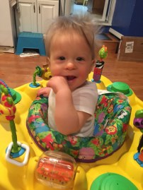 Baby KS on her own safari!