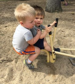Little Boys at the Park