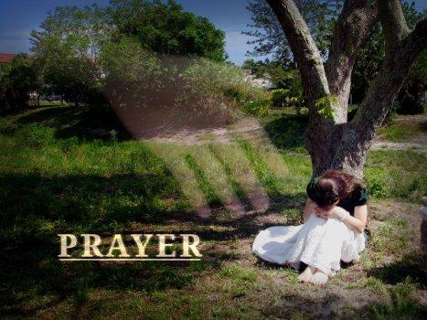prayer-hand and girl prayer
