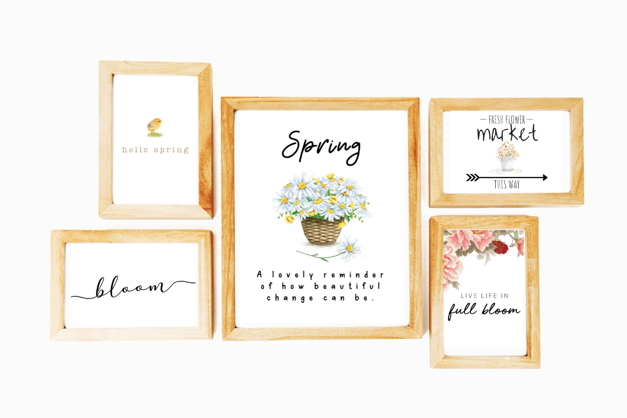 Free Spring Printables For Your Home