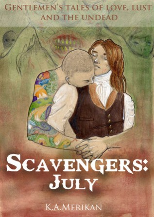 Review: Scavengers – July by K.A. Merikan