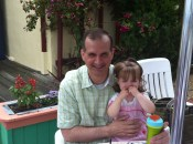 Andrew Q. Gordon and his adorable daughter