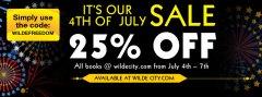 wilde city sale banner