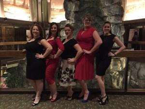 Me, Leigh, Trish, Gyn, & Heather