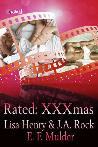 Review: Rated: XXXmas by Lisa Henry, J.A. Rock, and E.F. Mulder