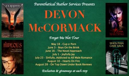 Devon McCormack Tour Banner