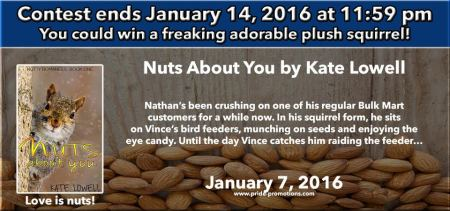 Nuts about You Giveaway Banner