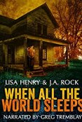 Throwback Thursday Audiobook Review: When All the World Sleeps by Lisa Henry and J.A. Rock