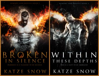 Guest Post and Giveaway: Demons & Wolves Series by Katze Snow