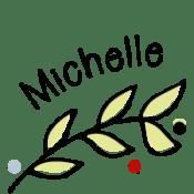 Michelle's signature