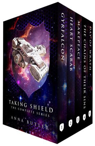 Guest Post and Giveaway: Taking Shield series by Anna Butler
