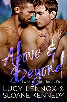 Review: Above and Beyond by Lucy Lennox and Sloane Kennedy