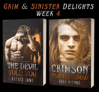 Guest Post and Giveaway: Grim & Sinister Delights with Alexis Jane and Brea Alepou