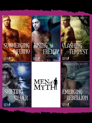 Guest Post and Giveaway: Men of Myth Series by Brandon Witt