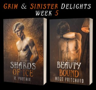 Guest Post: Grim and Sinister Delights with R. Phoenix and Megs Pritchard