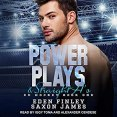 Audiobook Review: Power Plays and Straight A's by Eden Finley and Saxon James