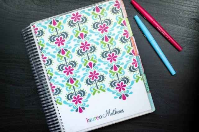 Erin Condren Life Planner Review | JoyfullyKind.com