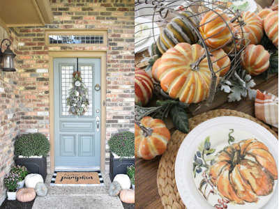 A fall table to remember for years to come. Thanksgiving memories made sweeter with a beautiful fall table. #falldecor #fallinspo #thanksgivingtable