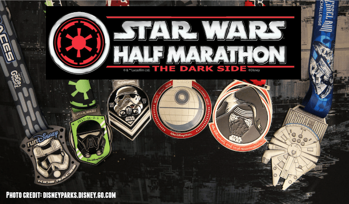 Disney's 2017 Star Wars Dark Side Half Marathon Weekend