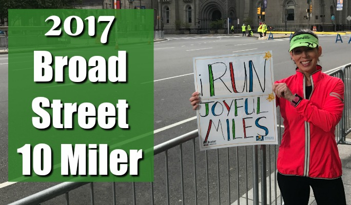 2017 Broad Street 10 Miler from a Cheerer's Perspective!