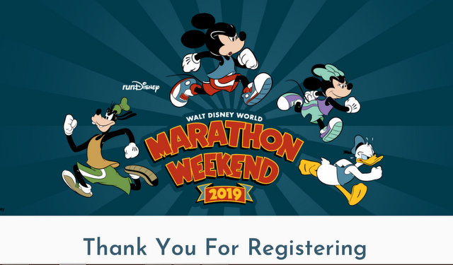 runDisney Registrations … aka, I'm Broke!
