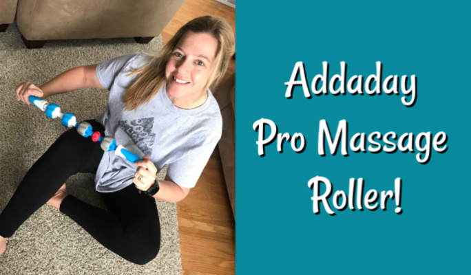 Addaday Pro Massage Roller: Jackey's First Impression