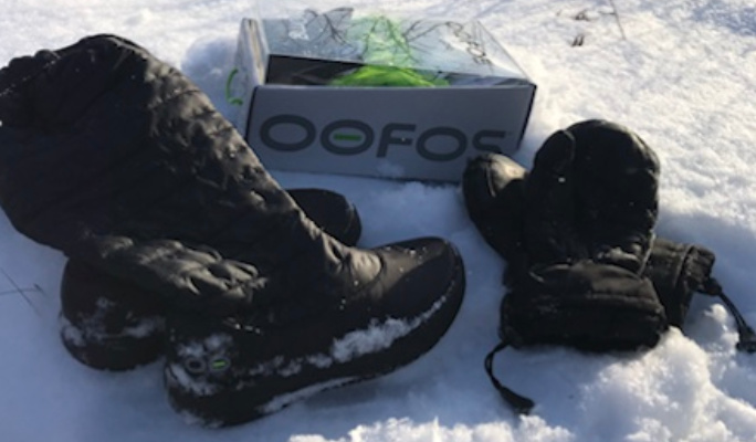 OMG!!! Oofos Oomg Boots are amazing!