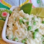 Creamy Rice and Sweet Peas
